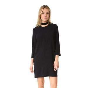 Shopbop 'And B' Mock Cutout Neck Dress size S